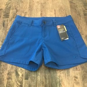 Under Armour Blue Storm Water Resistant Shorts NWT